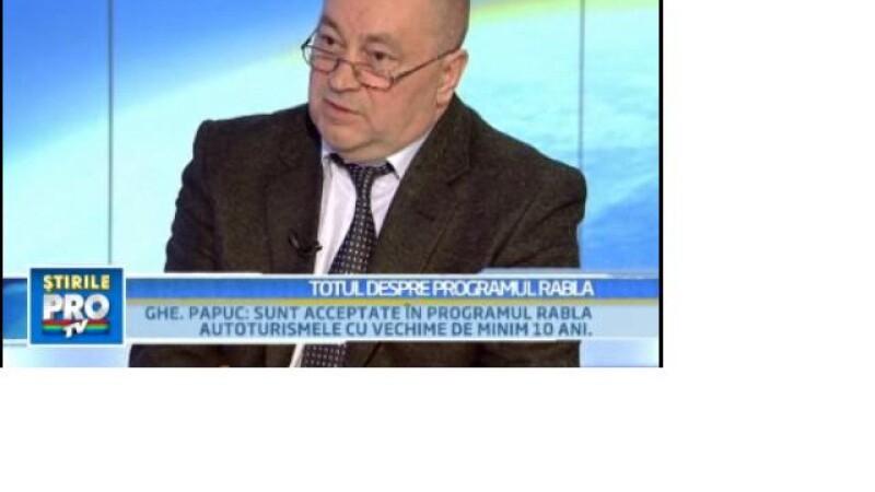 G. Papuc: Sunt acceptate in program masinile cu o vechime de minim 10 ani