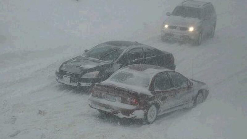 O noua furtuna violenta de zapada s-a abatut asupra coastei de est a SUA