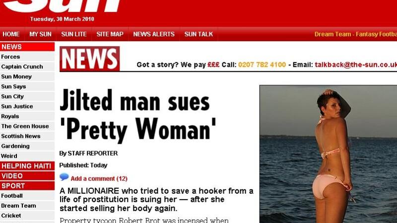 Pretty Woman exista!Dar n-a vrut sa renunte la prostitutie pentru milionar