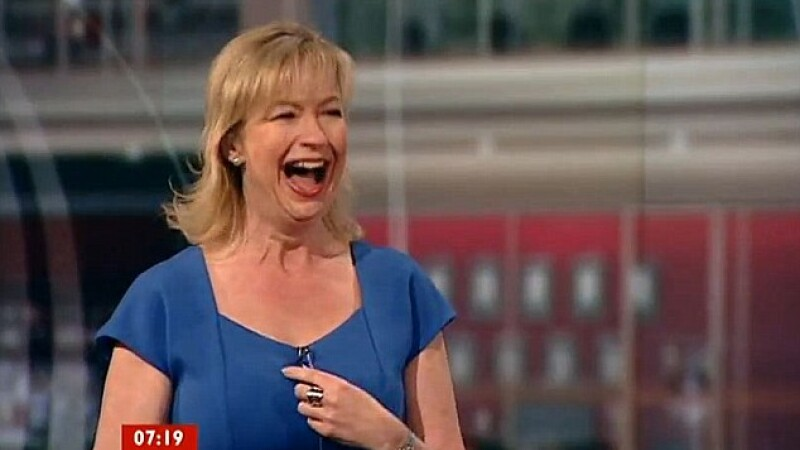 Ooops...Gafa in direct la BBC. Ce a ajuns in decolteul unei prezentatoare meteo. VIDEO