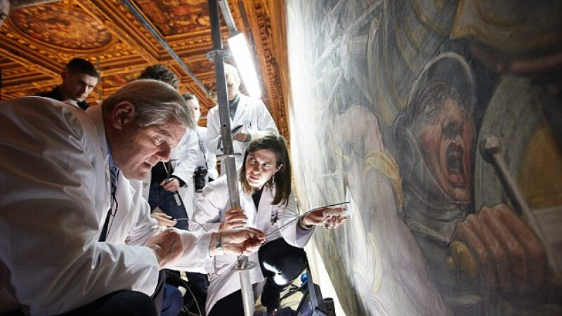 Mesajul secret care i-a dus pe arheologi la o capodopera a lui da Vinci, ascunsa timp de 400 de ani