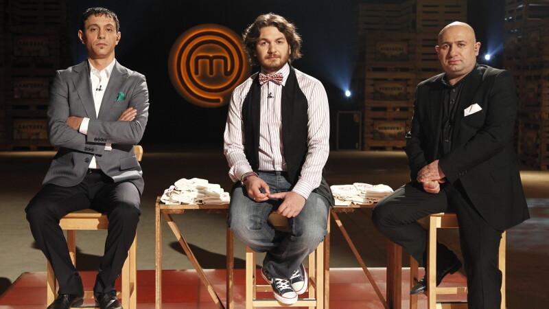 MasterChef, cel mai spectaculos show culinar al momentului. Vezi spectacolul primei editii pe Voyo