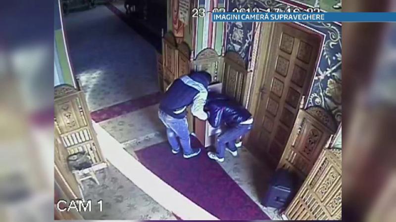Trei tineri din Tulcea au fost filmati in timp ce furau din cutia milei