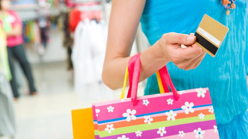 shopping, cumparaturi, card