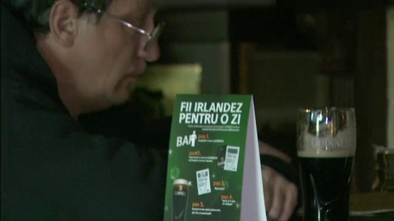 Sfantul lor, distractia noastra. Romanii petrec in stil irlandez, cu mii de litri de bere si parade, de Saint Patrick