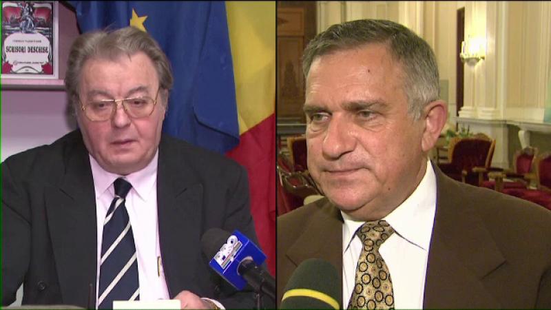 Scandal in partidul cu 2 presedinti.Corneliu Vadim Tudor si Gheorghe Funar au liste diferite de candidati la europarlamentare