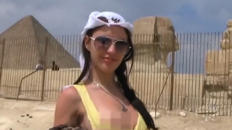 Ancheta oficiala in Egipt, dupa ce un film pentru adulti in limba rusa a fost turnat chiar langa Piramide