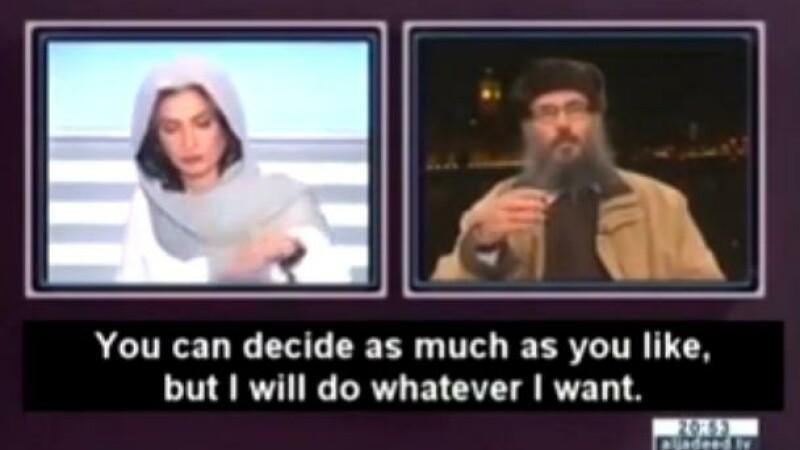 VIDEO. O prezentatoare TV din Liban intrerupe un interviu dupa ce un cleric extremist ii spune sa taca