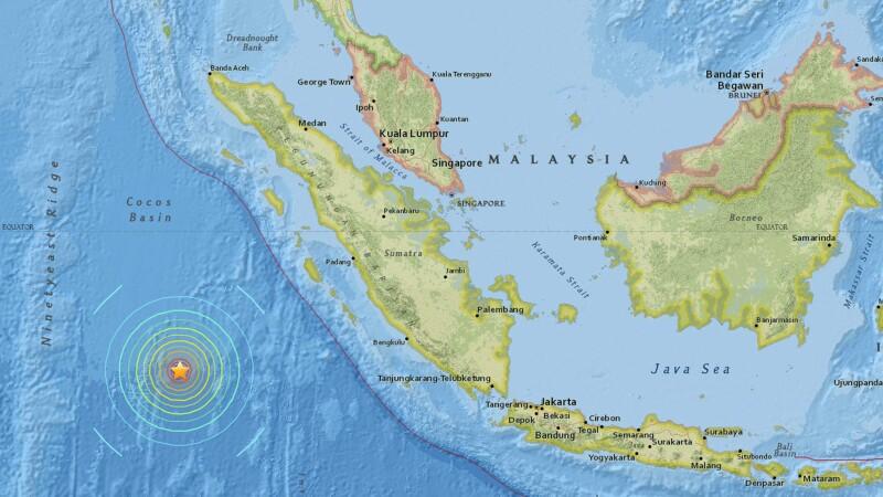 Indonezia, lovita de un cutremur puternic cu magnitudinea 7,9. Autoritatile au emis alerta de tsunami