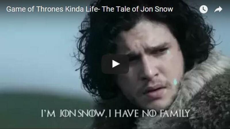 VIDEO. Povestea lui John Snow - parodii dupa serialul Game of Thrones