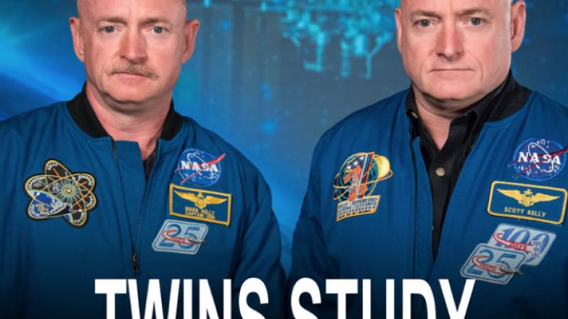 Astronautul NASA Scott Kelly a crescut cu 5 cm in inaltime in anul pe care l-a petrecut in spatiu