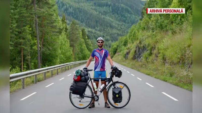 3500 de kilometri in 45 de zile, pe doua roti si cu doar 1600 de lei in buzunar. Aventura low cost a unui actor roman