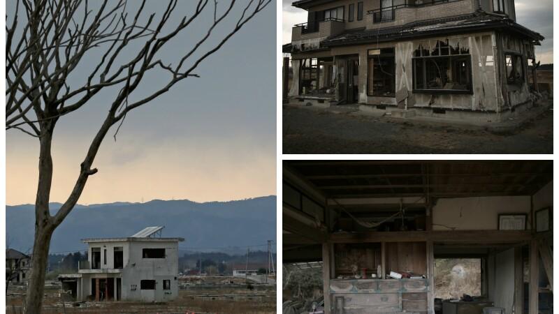 Cinci ani de la dezastrul nuclear din Fukushima. Imagini infioratoare din orasele fantoma unde mai ajung doar turistii. FOTO