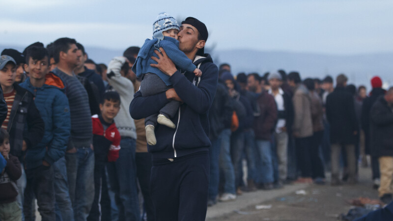 Slovenia si Macedonia au inchis Ruta Balcanica. AFP: