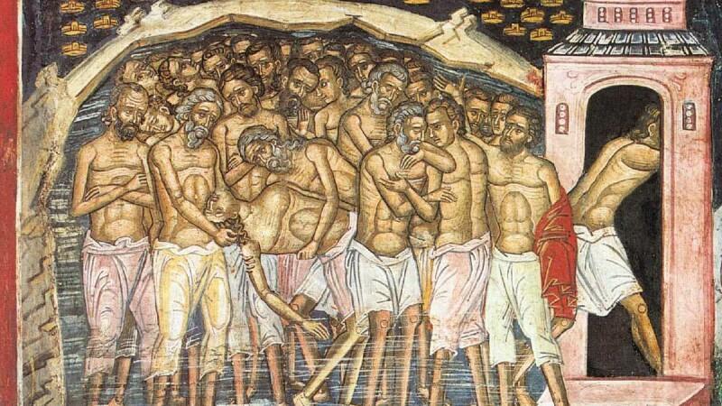 Sfintii 40 de Mucenici, traditii si obiceiuri. Azi se deschid mormintele si portile Raiului. De ce se beau 40 de pahare