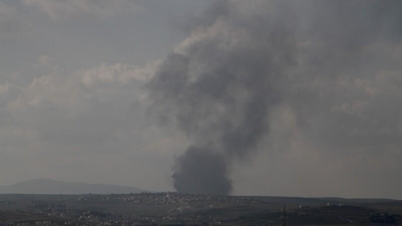 O noua lovitura impotriva jihadistilor. Coalitia a bombardat instalatiile de producere a armelor chimice ale Statului Islamic