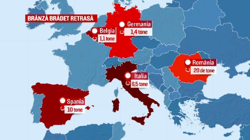 Autoritatile italiene au lansat o alerta in UE avertizand populatia sa nu consume produse Bradet. Reactia producatorului