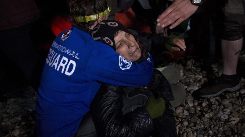 Patru imigranti, intre care doua fetite, au murit incercand sa ajunga din Turcia in Grecia. FOTO