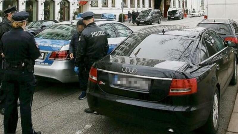 Numerosi nemti s-au plans ca sunt agresati pe strada in Hamburg. Ce a descoperit politia in Audi-ul unui roman