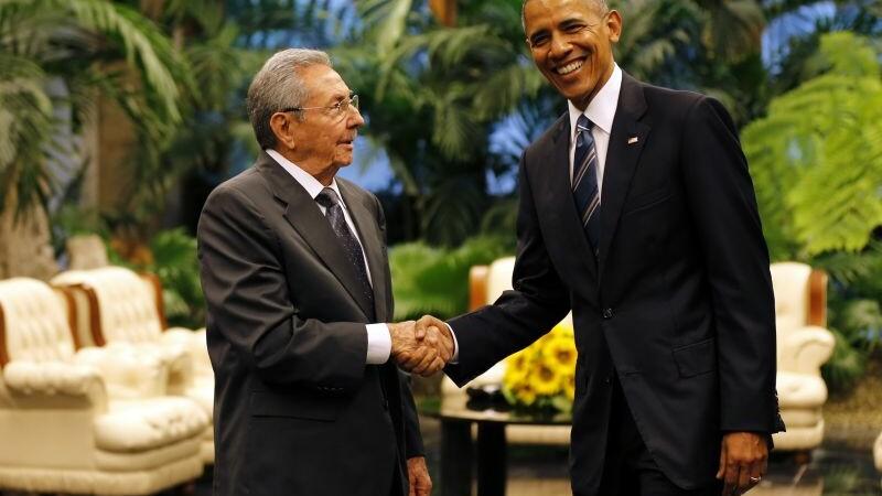 Obama a cerut ridicarea embargoului impus Cubei. Reactia lui Raul Castro, dupa ce a fost intrebat de detinutii politici