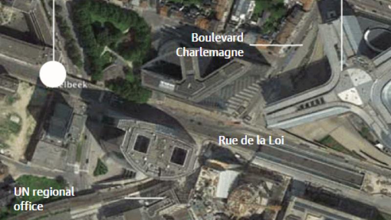 Filmul atentatelor de la metroul din Bruxelles, soldate cu 20 de morti.