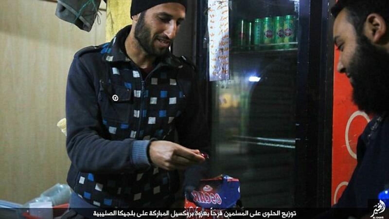Cum a sarbatorit Statul Islamic atentatele de la Bruxelles. Imaginile au fost facute publice impreuna cu un mesaj. FOTO