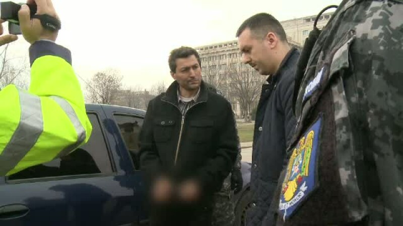Crima intr-un canal din centrul Bucurestiului, langa Casa Poporului. Un barbat si-a ucis, cu ranga, partenera de viata