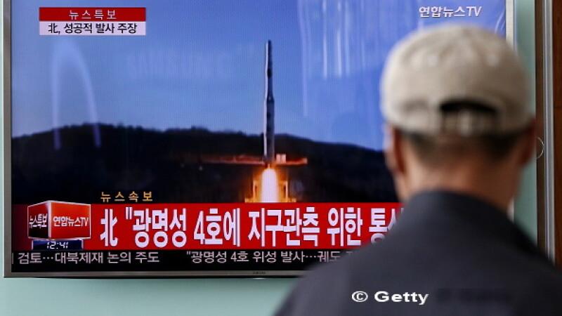 Consiliul de Securitate al ONU a condamnat cu putere tirurile de rachete ale Coreei de Nord: