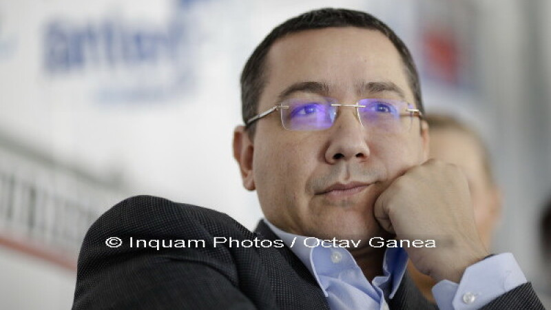 Victor Ponta: Nu este nevoie sa ma excluda nimeni din PSD. Ii mai trimit o data demisia lui Liviu Dragnea