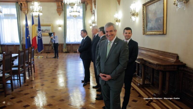 Parlamentul a adoptat o declaratie la initiativa lui Tariceanu, in care il critica pe Iohannis. Replica Presedintiei