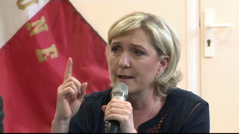 Extremista Marine Le Pen, devansata in sondaje de Emmanuel Macron. Care ar fi diferenta in al doilea tur