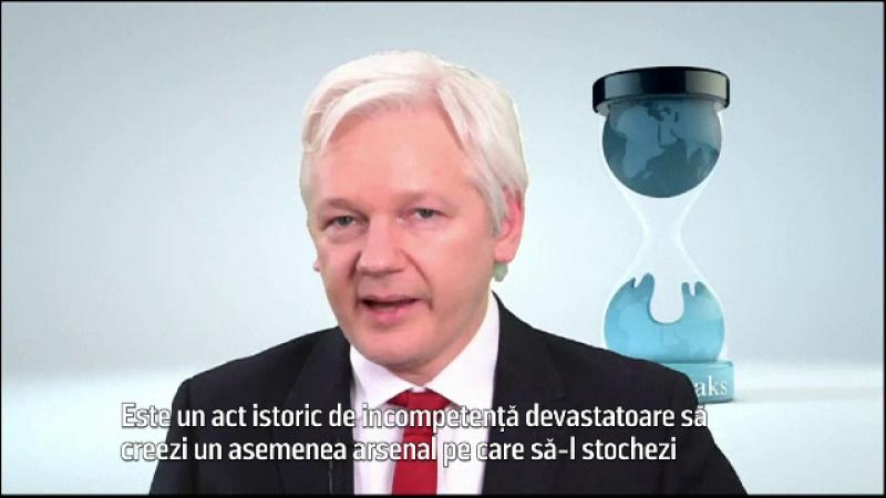 Julian Assange le-a promis companilor de tehnologie acces la programul de spionaj al CIA: Oamenii trebuie sa fie in siguranta