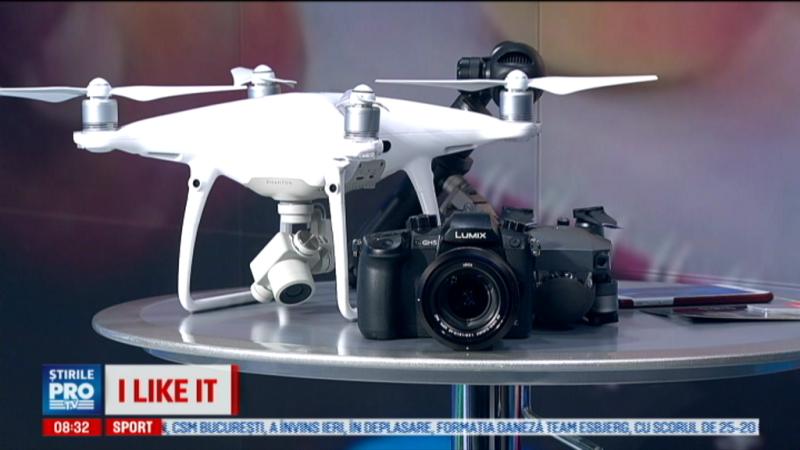 iLikeIT. Cea mai tare camera pentru filmari 4K. Dronele profesionale care se pliaza si stiu sa ocoleasca obstacolele