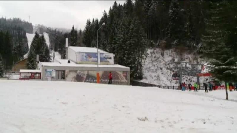 Sezon de schi prelungit pe Valea Prahovei si in Poiana Brasov. Desi e martie, partiile arata ca in plina iarna