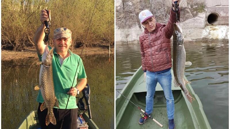 Liviu Dragnea l-a invatat pe Sorin Grindeanu sa pescuiasca.