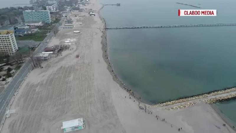 Concurenti din 10 tari au participat la Maratonul Nisipului, in Constanta. Ministrul Mediului din R. Moldova a iesit pe 2