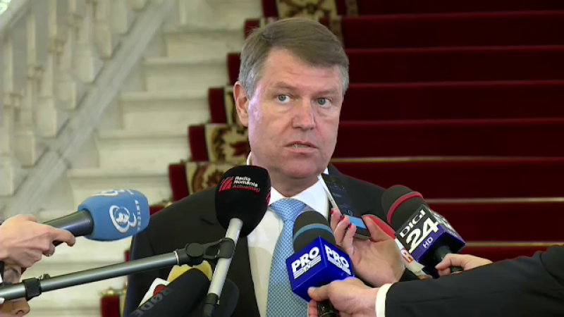 Klaus Iohannis reactioneaza in scandalul SIPA: