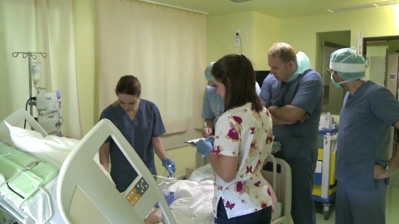 O clinica privata din Sibiu ar putea sa faca transplant pulmonar, dar ANT nu ii da acreditarea. Pacienti: