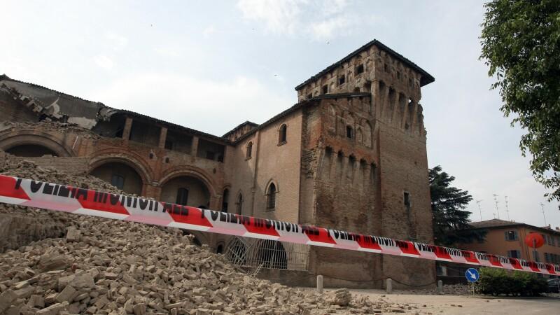 Cutremur cu magnitudinea de 5 in Italia. Panica in Bologna, Milano si Modena