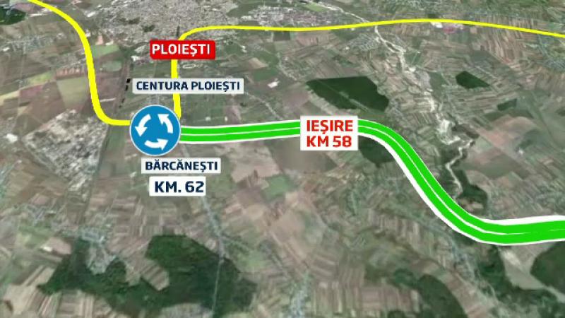 Bucuresti - Ploiesti, autostrada pe care soferul devine prizonier. 60 de kilometri si nicio iesire