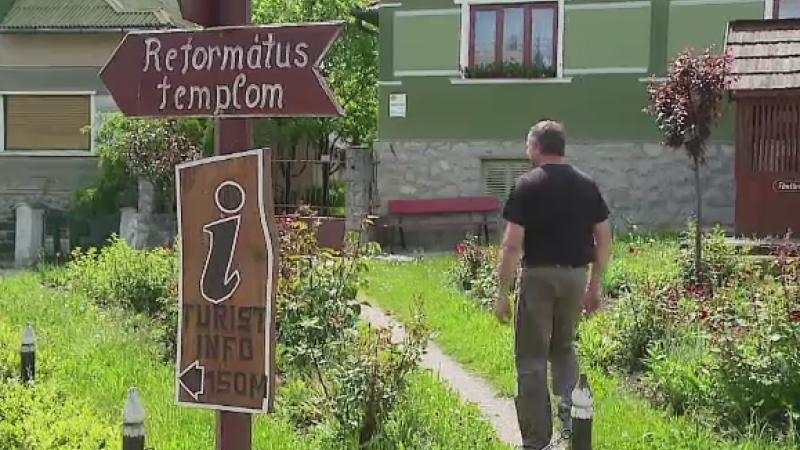 5 milioane de euro au transformat o comunitate din Cluj intr-o atractie turistica. Peisajul te face sa te simti ca in Austria