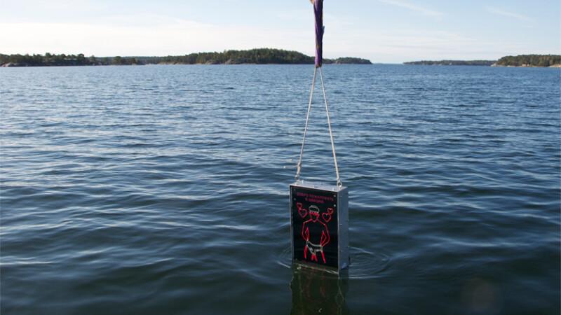 Metoda suedeza de aparare impotriva submarinelor rusesti.