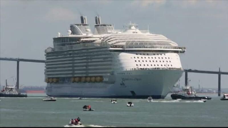 Cel mai mare vas de croaziera din lume este pregatit pentru voiajul de inaugurare. Ce ofera pasagerilor
