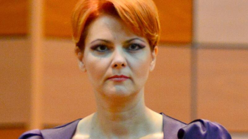 Olguta Vasilescu, in prima zi la Ministerul Muncii: