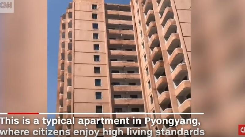 Imagini in exclusivitate, filmate in Coreea de Nord. Ce a vazut un jurnalist CNN in casa unor oameni obisnuiti