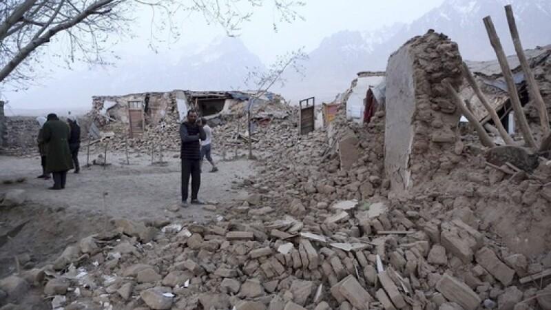 Cutremur cu magnitudinea 5,4 pe scara Richter in China. 8 morti si 20 de raniti