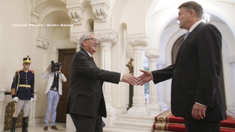 Juncker la Cotroceni: Vreau ca MCV sa fie ridicat si va fi, iar Romania sa intre in Schengen pana in ianuarie 2019