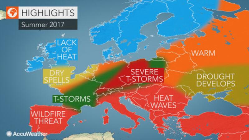 Prognoza verii 2017 pentru Europa. Romania va fi lovita de valuri de canicula si de seceta excesiva