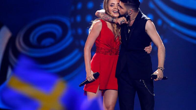 Romania pe locul 15 in viziunea juriului, dar al cincilea punctaj primit de la public. Cum s-a votat la Eurovision