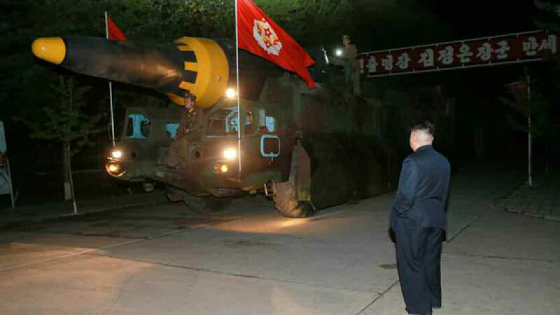 Phenianul anunta ca detine un nou tip de racheta capabila sa transporte o focoasa nucleara